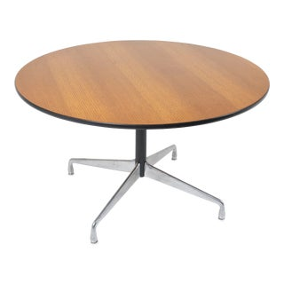 "54"" Herman Miller Eames Aluminum Group Dining Table For Sale"