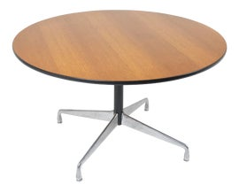 Image of Charles and Ray Eames Dining Tables