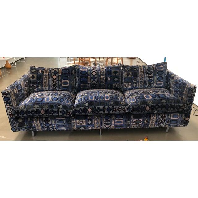 1970s Vintage Milo Baughman Sofa For Sale - Image 11 of 11