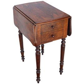 Image of Shabby Chic Drop-Leaf and Pembroke Tables