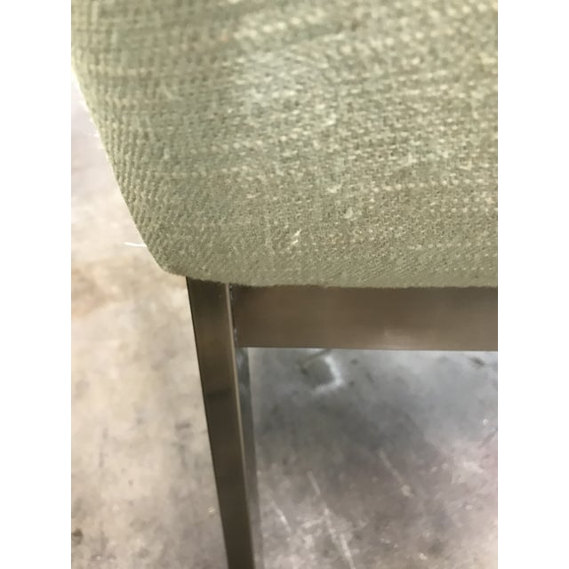 1980s Vintage Dia Upholstered Dining Chairs- Set of 6 For Sale - Image 9 of 12