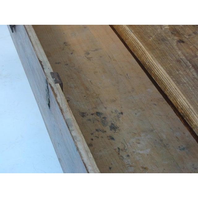 Antique Swedish Bench - Image 8 of 10