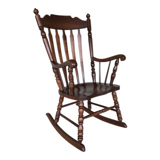Boston Style Windsor Rocking Chair For Sale