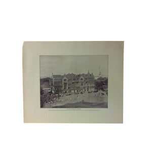 "Antique Glimpses of India Print, ""Sirdar's Mansions - Bombay"", Circa 1890 For Sale"