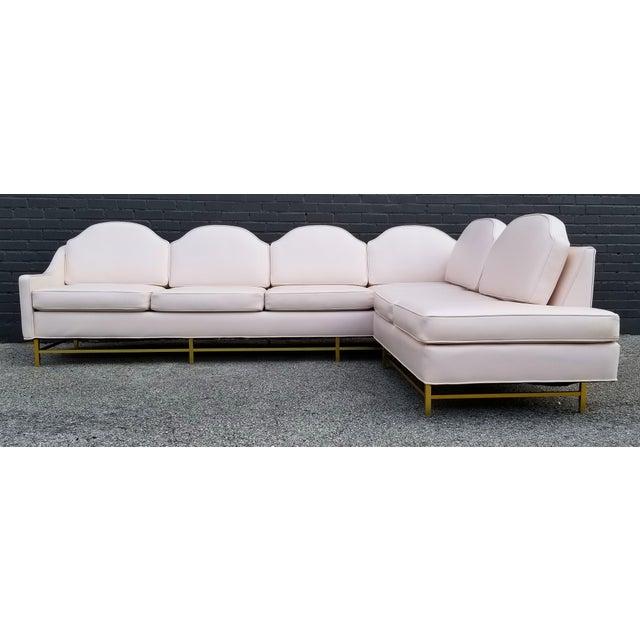 "Kipp Stewart and Stewart McDougall Mid-Century Modern ""Suncoast"" Sectional Sofa For Sale - Image 9 of 13"