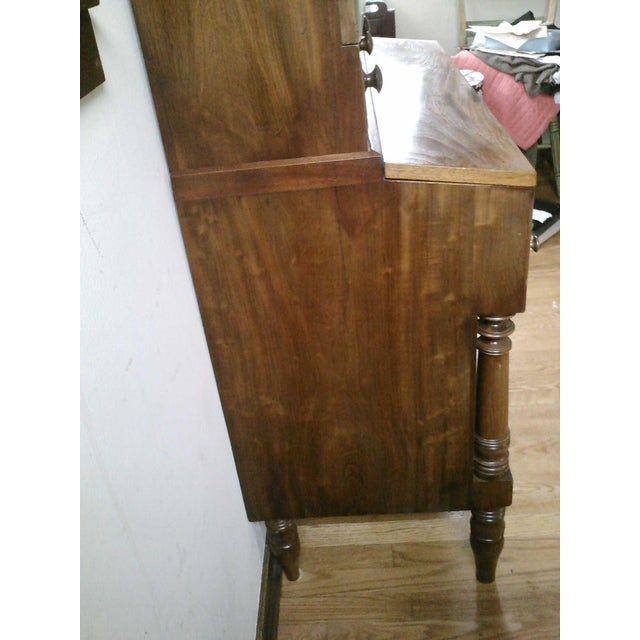Antique Secretary Desk with Shelving - Image 5 of 9