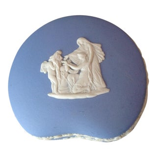 Vintage Wedgewood Kidney Bean Shaped Trinket Box