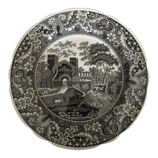 """The Spode Archive Collection Dinner Plate """"Castle"""" For Sale"""