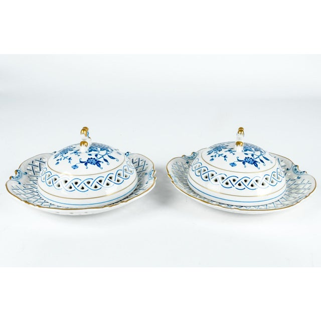 Early 20th Century 4 Piece Set of Porcelain Tableware For Sale - Image 5 of 13