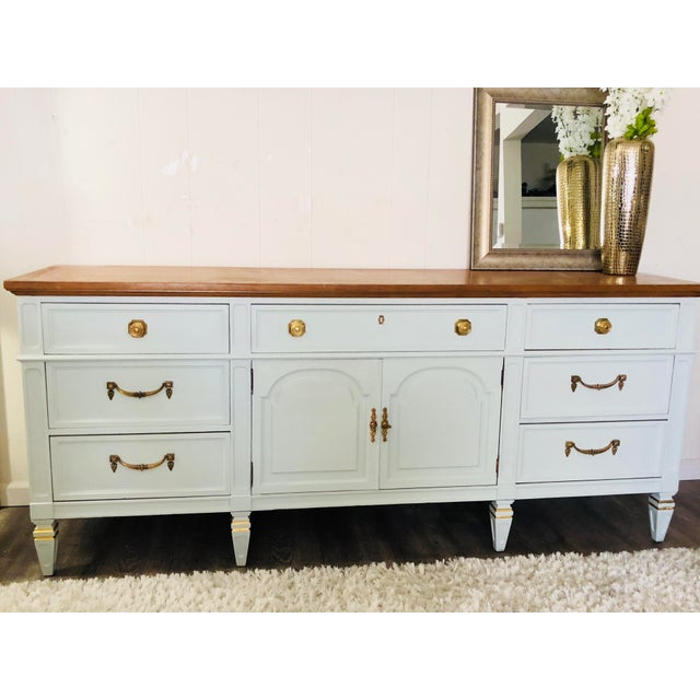 Thomasville Vintage Thomasville Sideboard For Sale - Image 4 of 12