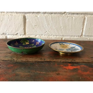 Cloisonné Vanity Small Bowls - A Pair Preview