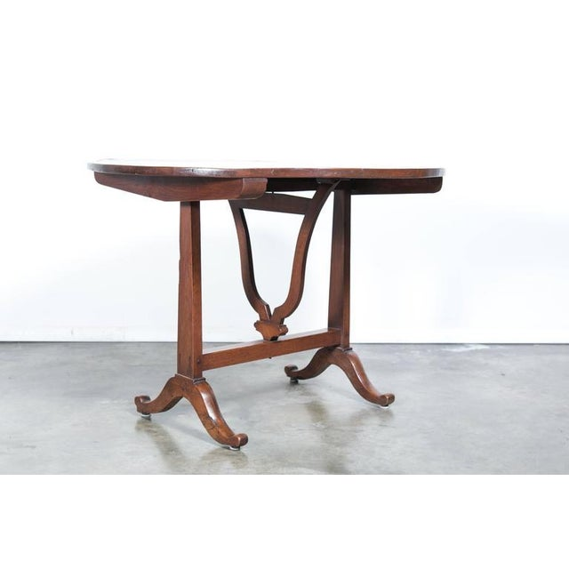 Mid 19th Century Antique French Wine Tasting Table For Sale - Image 5 of 10