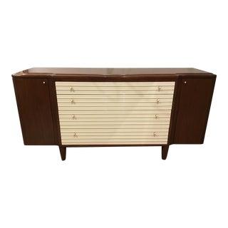 Transitional Barbara Barry for Henredon Reeded Dresser For Sale