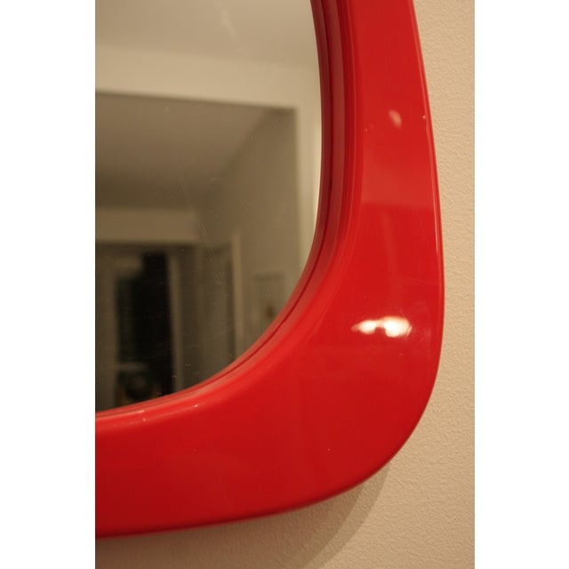 Whimsical Lipstick Lips Mirror For Sale - Image 9 of 12