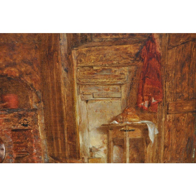 """Alfred Provis """"Young Domestic"""" Original Oil Painting - Image 4 of 10"""