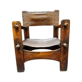 Antique Limbert Armchair For Sale