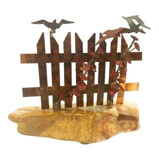 Don Demott Beach Fence Sculpture