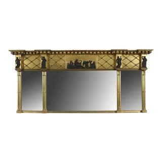 Federal Overmantel Mirror