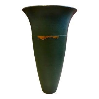 1980's Studio Pottery Vase For Sale