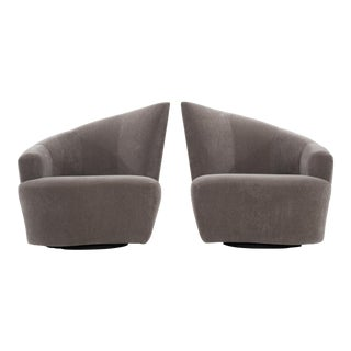 Vladamir Kagan Lounge Chairs - a Pair For Sale