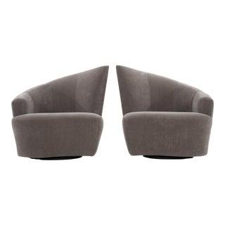 Vladimir Kagan Lounge Chairs - a Pair For Sale