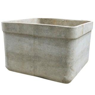 Modern European Cement Planter, Circa 1960 For Sale
