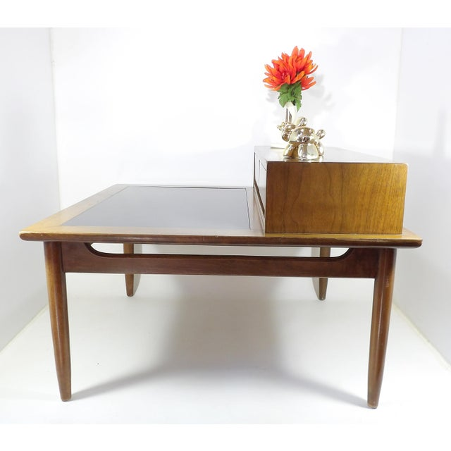 Mid-Century Modern 1950s Mid Century Modern American of Martinsville Sectional Sofa Divider Table For Sale - Image 3 of 12