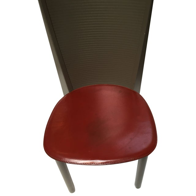 Calligaris Italian Mid Century Chairs - Set of 4 For Sale - Image 5 of 6