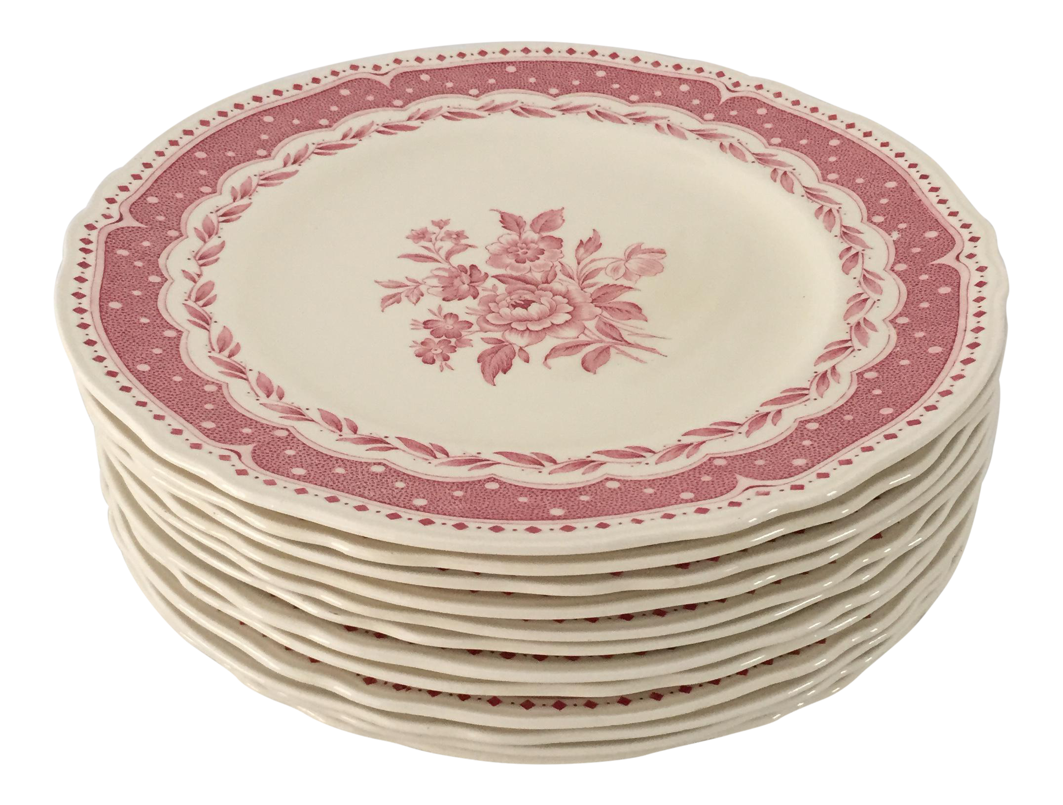 Vintage Avon Pattern Grindley-England Dinner Plates - Set of 12  sc 1 st  Chairish & Vintage Avon Pattern Grindley-England Dinner Plates - Set of 12 ...