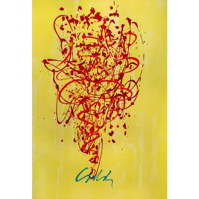 Artist: Dale Chihuly (1941) Title: Chandelier Series Year: 2016 Medium: Mixed Media (Intaglio Lithography & Acrylic) on...
