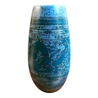 """Taxco, Mexico """"Fantasia"""" Vase by Felix Tissot"""