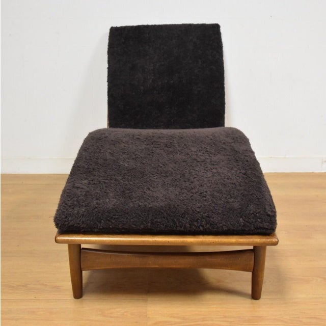 Mid-Century Modern Chaise Lounge Chair by Kofod Larsen for Selig For Sale - Image 3 of 10