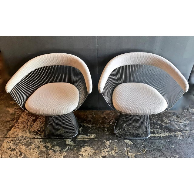 1990s Vintage Warren Platner Chairs- A Pair For Sale In Los Angeles - Image 6 of 7