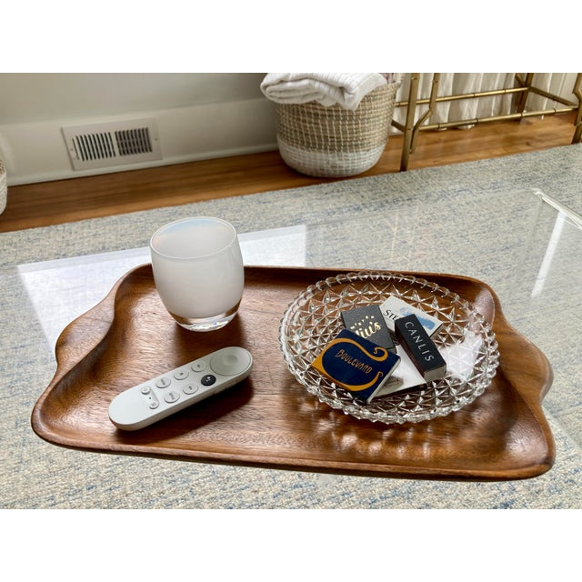 Vintage Textured Glass Catchall Dish For Sale In Seattle - Image 6 of 11