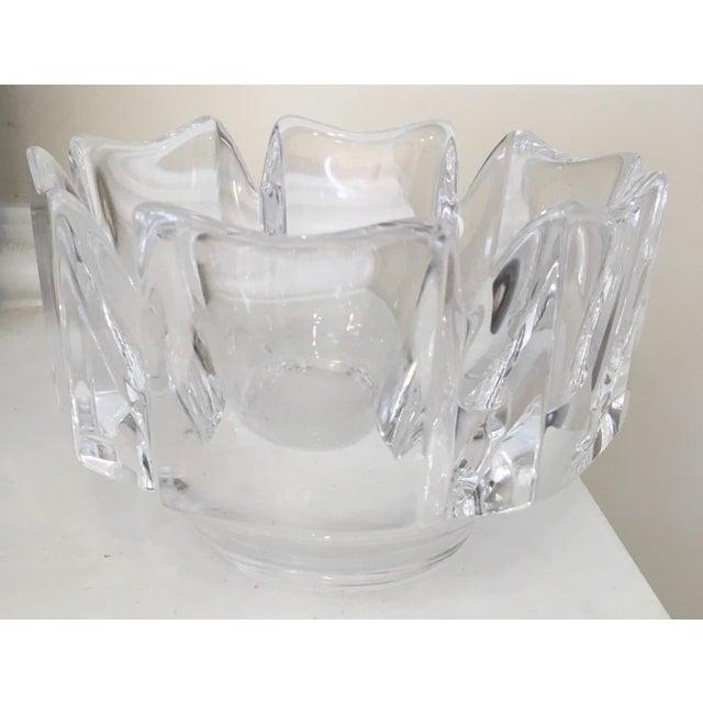 "Orrefors ""Corona"" Crystal Bowls - A Pair - Image 7 of 10"