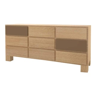 Contemporary 102C Storage in Oak and Brown by Orphan Work, 2020 For Sale