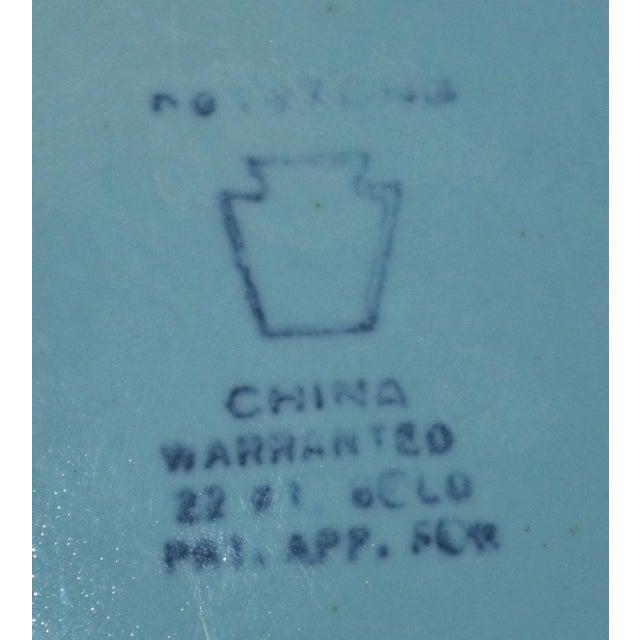 Canonsburg China Art Deco Cigarette Box For Sale - Image 9 of 12