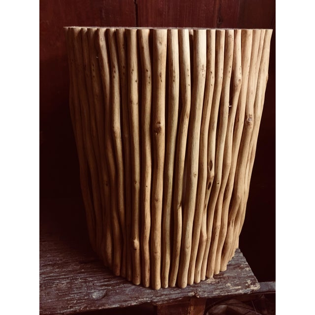 Made with reclaime tropical wood, the stick stool brings natural elements into any setting. We kiln dry properly which...