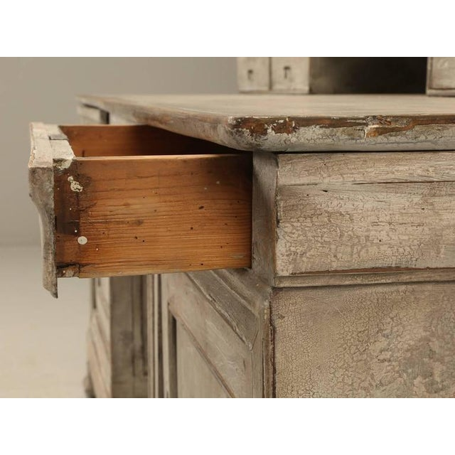 Antique French Bookcase and Desk For Sale In Chicago - Image 6 of 10