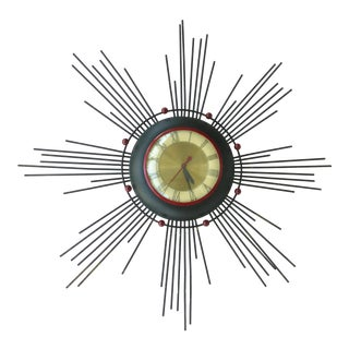 United Atomic Electric Wall Clock