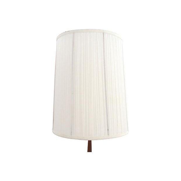 Mid-Century Multicolor Stripe Lamp - Image 8 of 9