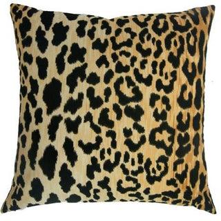 Leopard Velvet Pillow Cover Preview