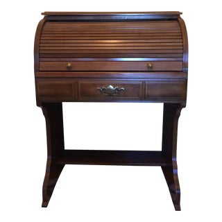 20th Century Early American Roll Top Desk For Sale