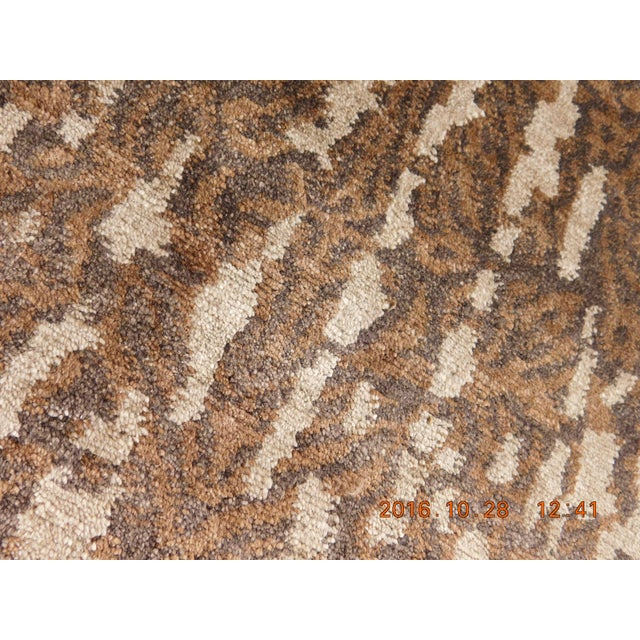 """Contemporary Hand-Knotted Luxury Rug - 8' x 10'2"""" For Sale - Image 9 of 10"""