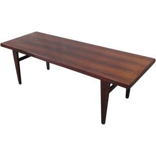 Mid-Century Modern Rosewood Coffee Table
