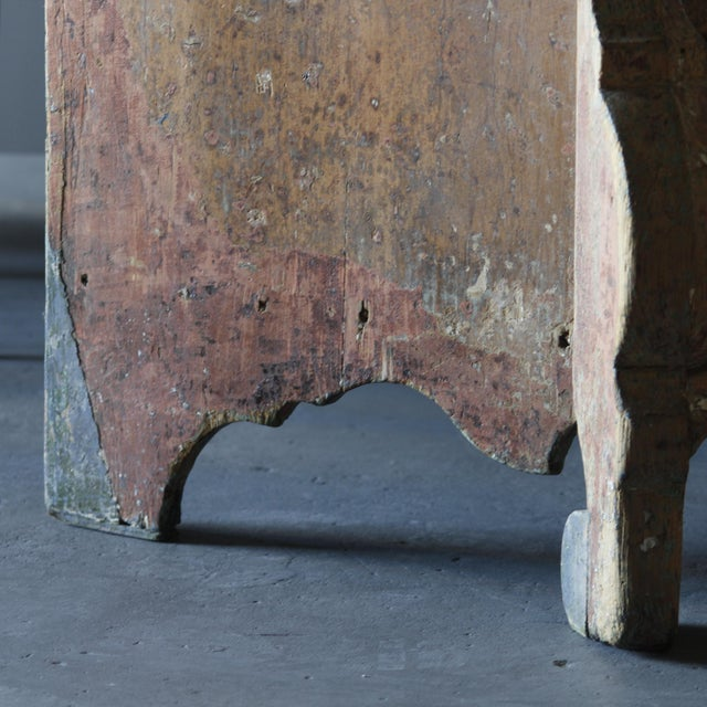 Brown Dutch Rococo Painted Desk For Sale - Image 8 of 9