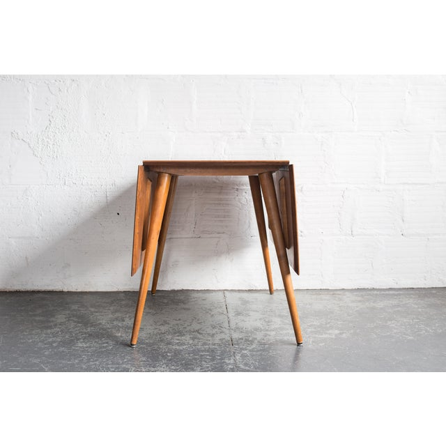 Paul McCobb Drop Leaf Dining Table - Image 5 of 9