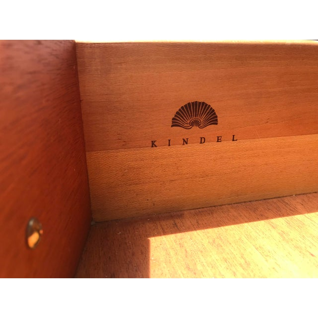 Traditional Cherry Side Board by Kindel For Sale - Image 9 of 11