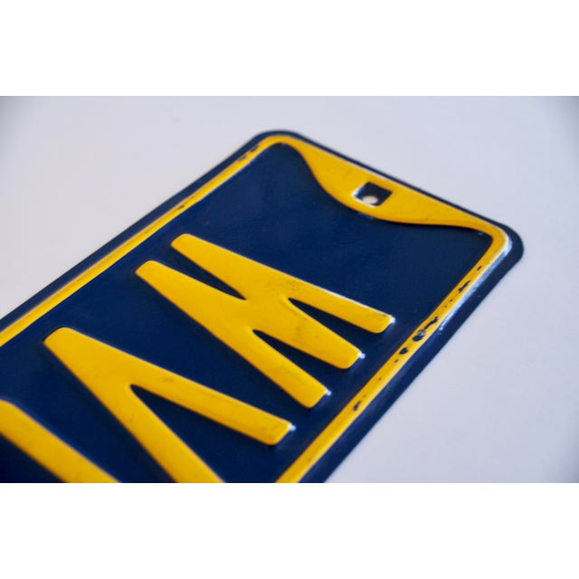 Industrial West Virginia University Street Sign For Sale - Image 3 of 7