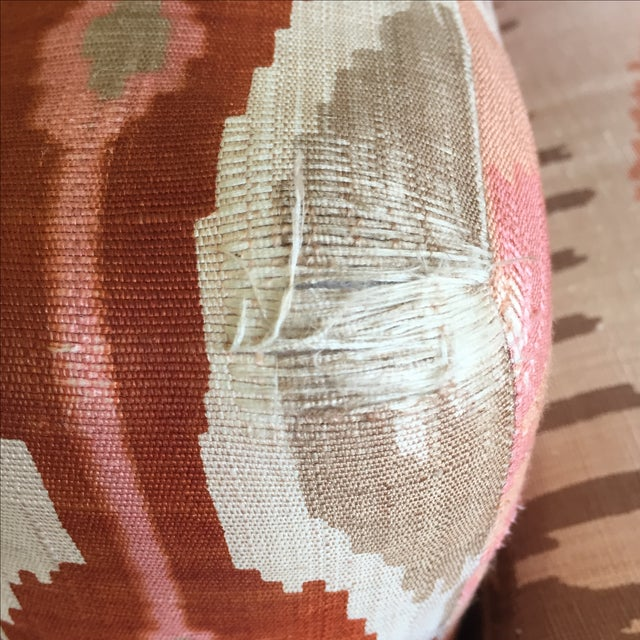 Martin Brattrud Ikat Sofa For Sale - Image 7 of 9